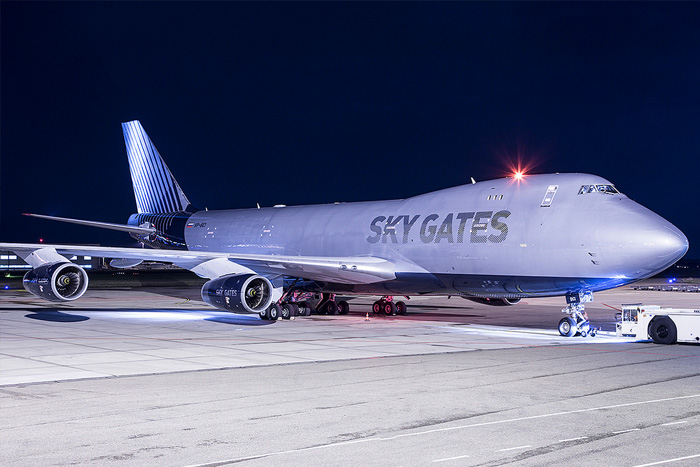 """A new freighter airline """"SKY GATES"""" has born."""