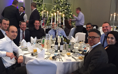United Kingdom Air Cargo Committee Christmas Lunch