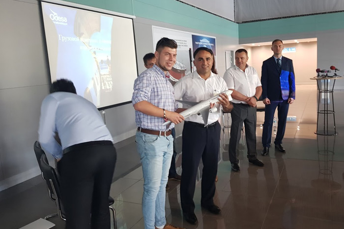 Presentation of Odessa Cargo Terminal (ODS) for cargo agents