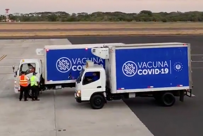 Avianca the preferred carrier for vaccine transportation to Latin America.